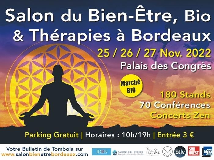 Salon du Bien Etre, Bio & Thérapies de Bordeaux