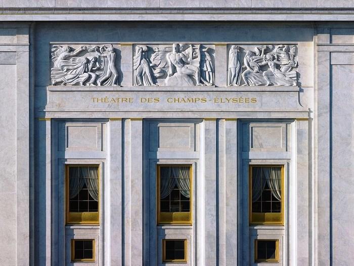 Journées du patrimoine 2019 - Le théâtre des Champs-Elysées vous ouvre ses portes !