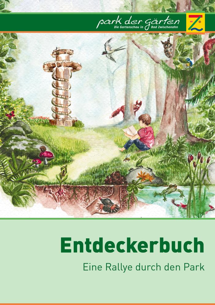 Entdeckerbuch - Eine Rallye durch den Park der Gärten