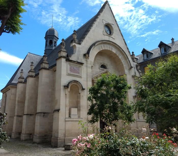 Journées du patrimoine 2020 - Visites guidées de la chapelle