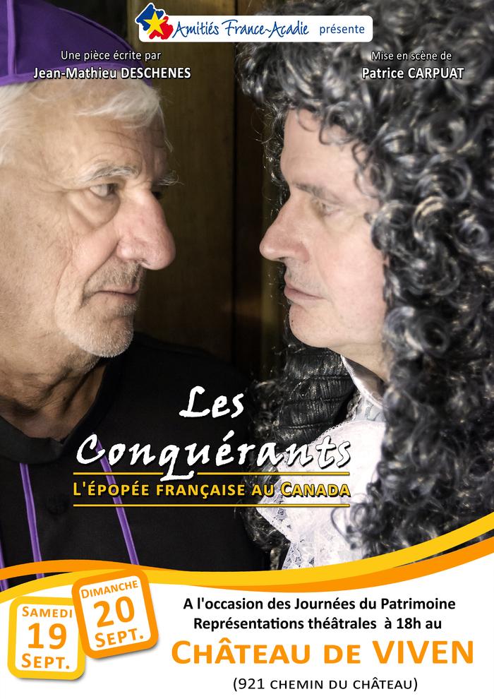 Journées du patrimoine 2020 - Pièce de théâtre :