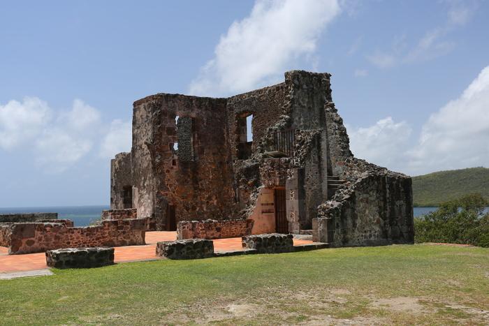 Journées du patrimoine 2020 - La Trinité / Visite des ruines du Château Dubuc