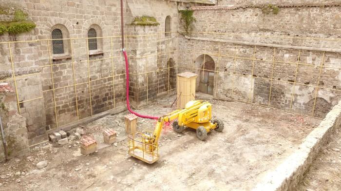 Journées du patrimoine 2020 - Ouverture du chantier au sein de l'Ancien Cloître