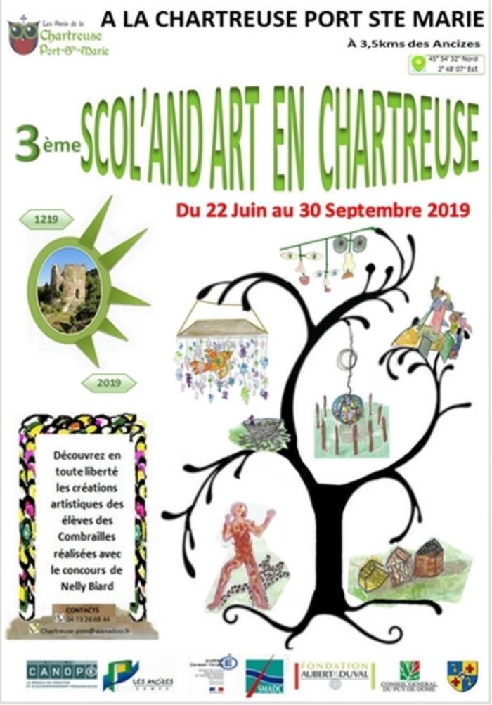 Journées du patrimoine 2019 - Scol'and art en chartreuse