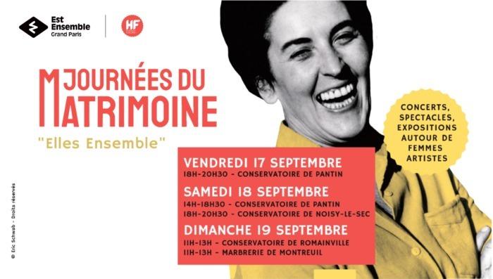 Lancement de l'exposition #TuJouesBienPourUneFille, concerts piano/flûte autour du répertoire de Claude Arrieu et Lili Boulanger. Concerts hautbois/piano en hommage aux femmes compositrices.