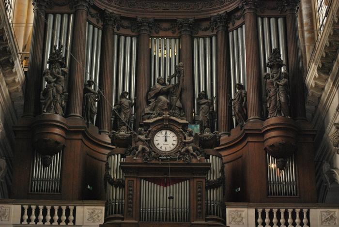 Journées du patrimoine 2020 - Présentation des orgues de Saint-Sulpice