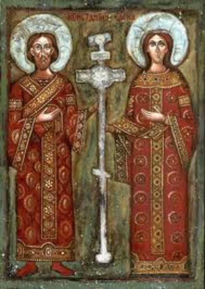 Acathiste orthodoxe du patriarcat de Moscou à Ste Hélène et st Constantin
