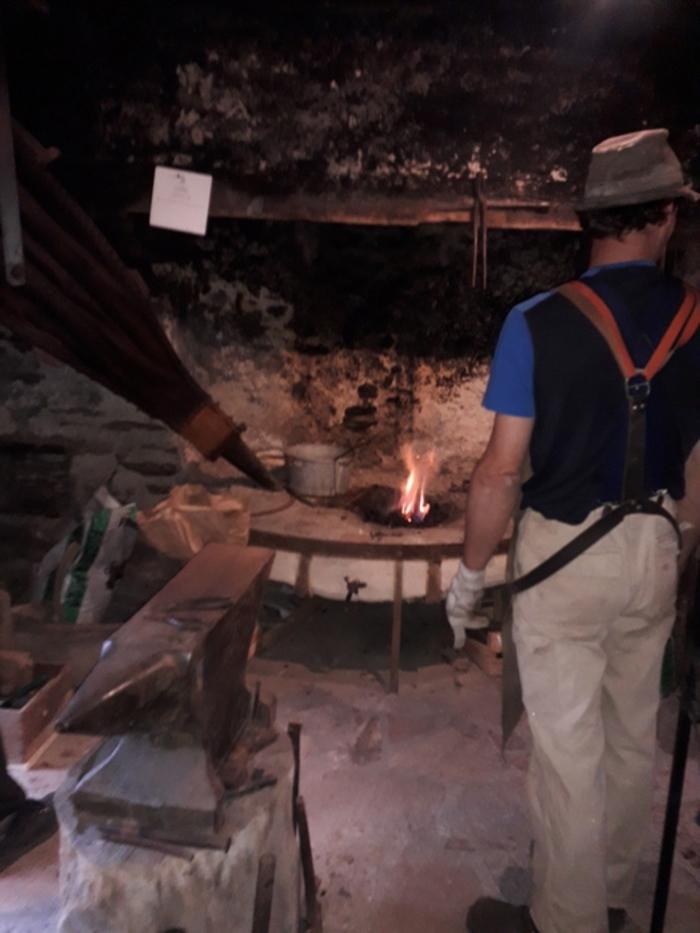 Journées du patrimoine 2020 - Atelier et démonstration d'un forgeron