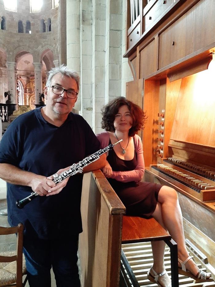 Journées du patrimoine 2019 - Concert orgue et hautbois à l'abbatiale