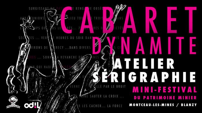 Journées du patrimoine 2020 - Atelier Sérigraphie - Cabaret Dynamite