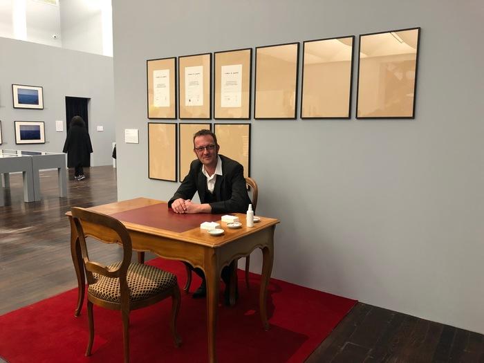 Nuit des musées 2019 -« Crossroad », performance de Laurent Prexl
