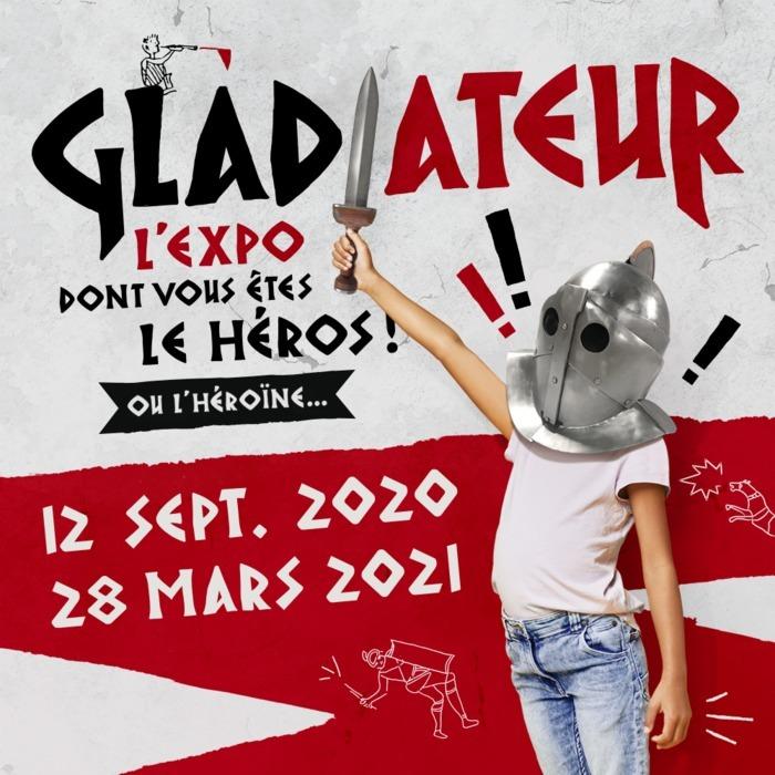 Gladiateur, l'expo dont vous êtes le héros ou l'héroïne !