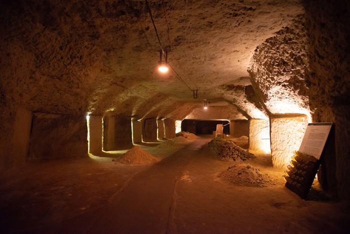 Journées du patrimoine 2019 - Visite de caves troglodytes de Blanc Foussy