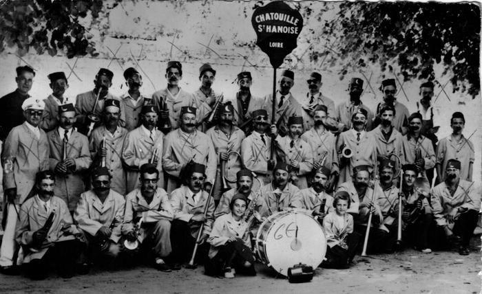 Journées du patrimoine 2019 - Souvenir de la société musicale « La Chatouille Saint-Haonnoise »