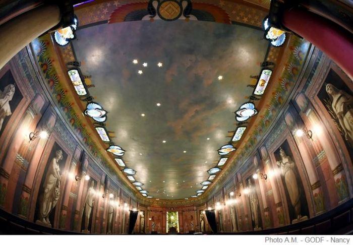 Journées du patrimoine 2019 - Visite commentée du temple maçonnique Grand Orient de France