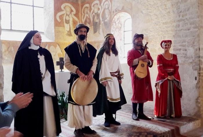 Journées du patrimoine 2019 - Et si on voyageait à travers les siècles? Visite guidée théâtralisée mise en musique