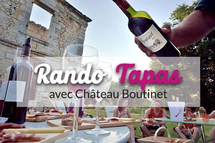Les Rando Tapas du Château Boutinet
