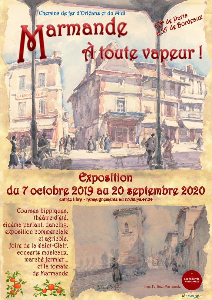 Journées du patrimoine 2020 - Visite de l'exposition : À toute vapeur !