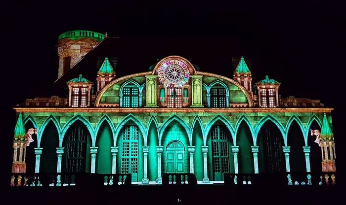 Journées du patrimoine 2019 - Spectacle monumental 4D de son et lumières !