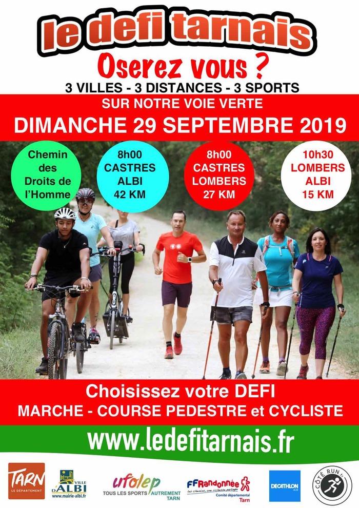 Le 29 septembre 2019 aura lieu la 2ème édition du Défi Tarnais, une épreuve sportive inédite et multisports.
