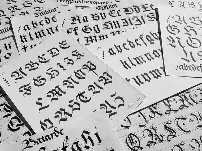 Journées du patrimoine 2020 - Les talents de Lautenbach : Guillaume Schaffhauser, calligraphe