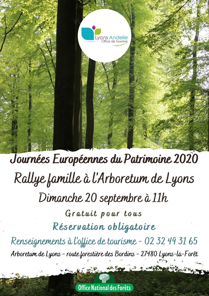 Journées du patrimoine 2020 - Rallye famille à l'arboretum de Lyons
