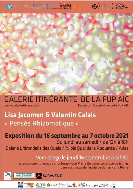 Exposition « Pensée Rhizomatique » Lisa Jacomen & Valentin Calais