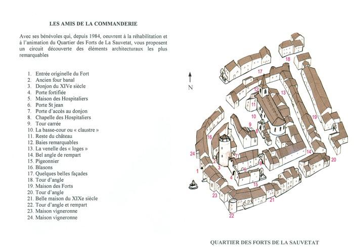 Journées du patrimoine 2020 - proposition d'un circuit de visite