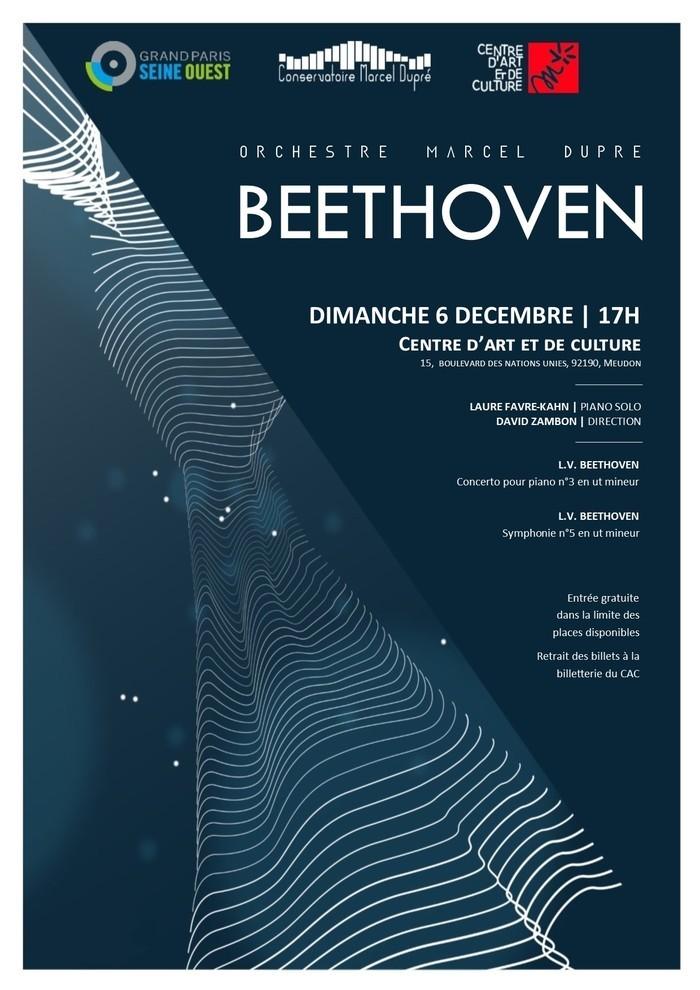 Par l'orchestre Marcel Dupré avec la participation de Laure Favre Kahn