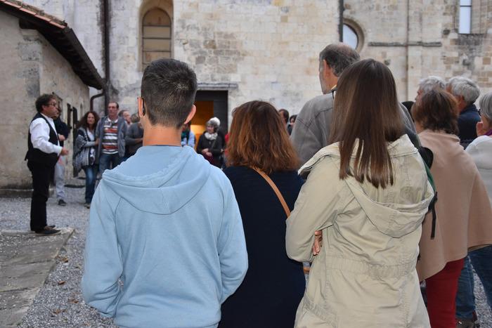 Journées du patrimoine 2019 - Visite ludique de l'abbaye en compagnie de conteurs.