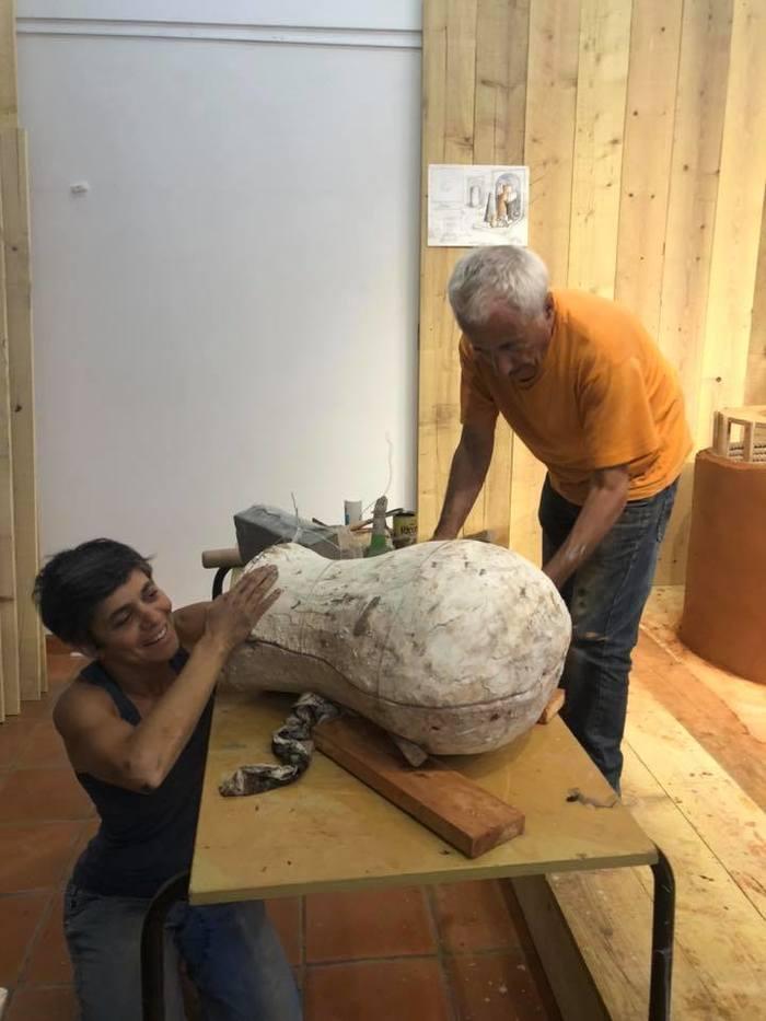 Journées du patrimoine 2020 - Visite de l'installation Destruction Annoncée n°10 de Dominique Angel