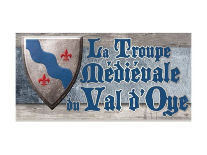 Journées du patrimoine 2020 - La Troupe Médiévale du Val d'Oye au Château de Montfaucon