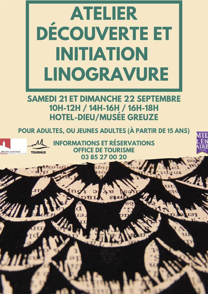 Journées du patrimoine 2019 - Atelier de découverte & d'initiation autour de la linogravure