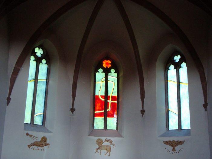 Journées du patrimoine 2020 - Découverte des vitraux contemporains «l'Ange»