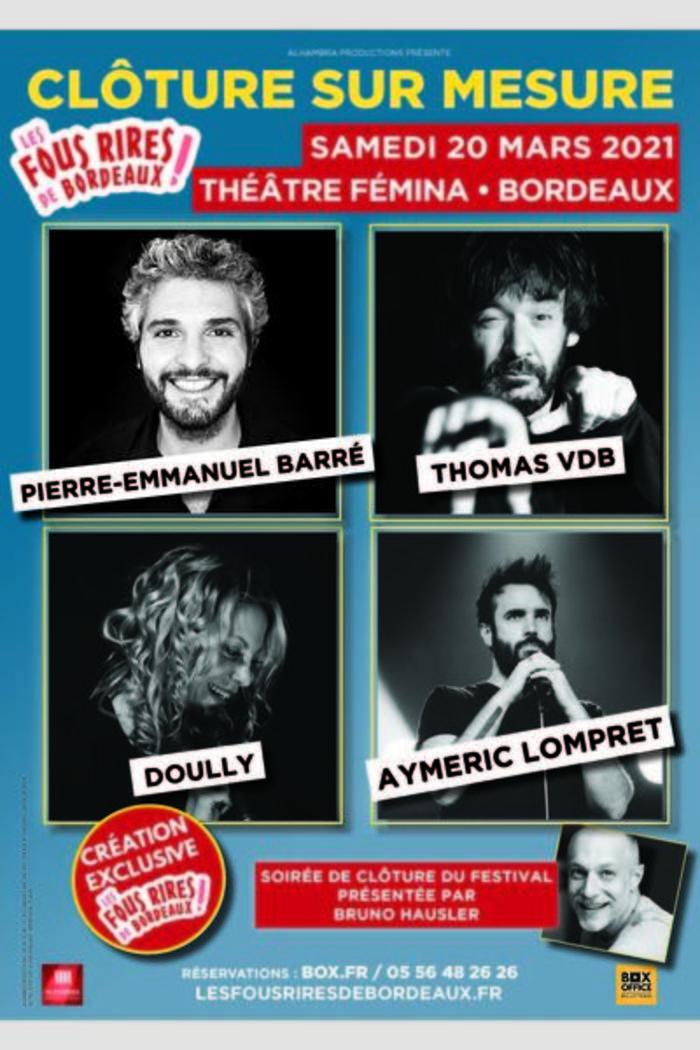 Cloture Sur Mesure – 20 mars 2021 – Théâtre Fémina