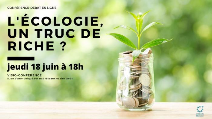 L'écologie, un truc de riche avec La Maison Écocitoyenne