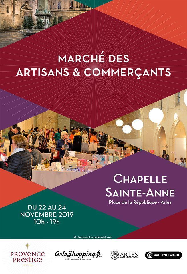 Les artisans & commerçants arlésiens du centre-ville exposent à la chapelle Sainte-Anne