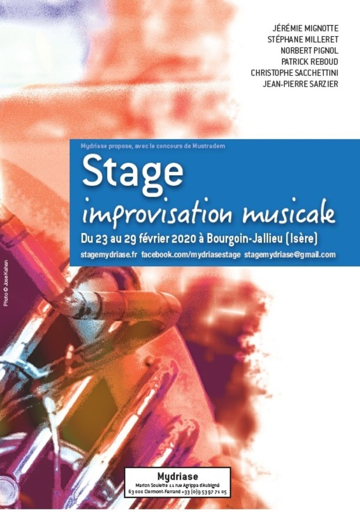 Stage - improvisation musicale