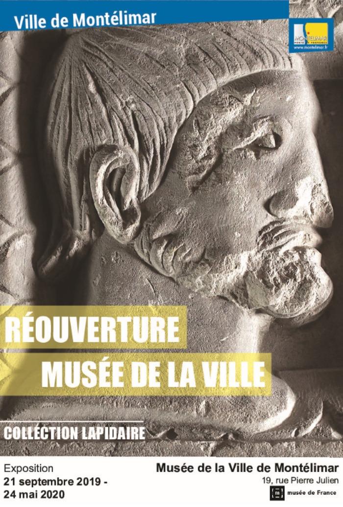 Journées du patrimoine 2019 - Réouverture du Musée de la Ville avec une présentation de la collection lapidaire