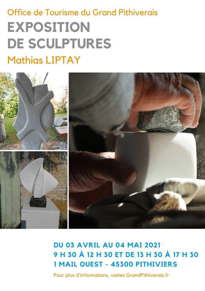 Exposition de sculptures réalisées par Mathias Liptay