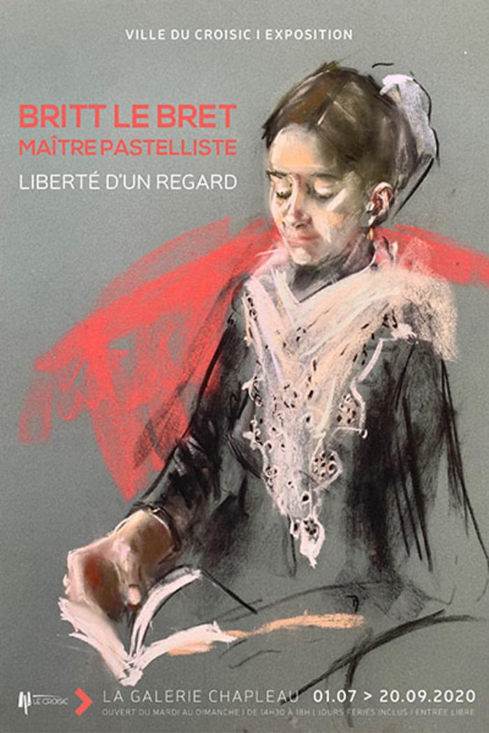 Journées du patrimoine 2020 - Exposition Britt Le Bret, maître-pastelliste, liberté d'un regard