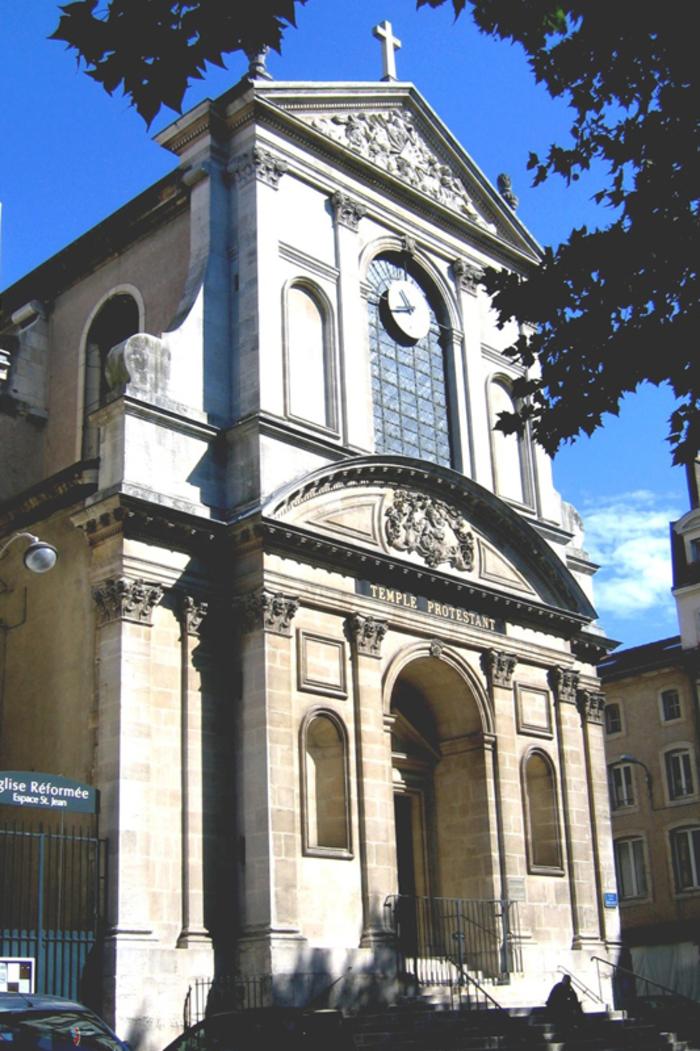 Journées du patrimoine 2020 - Visite libre du temple Saint-Jean