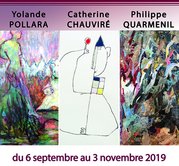 Journées du patrimoine 2019 - Trois artistes dans la douceur de l'automne
