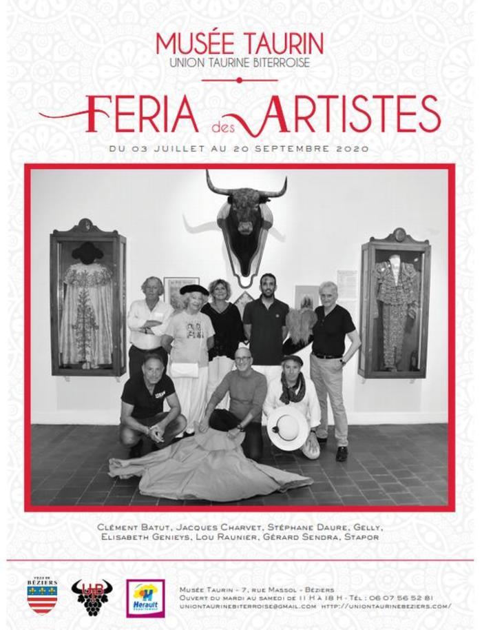 Journées du patrimoine 2020 - La Féria des artistes