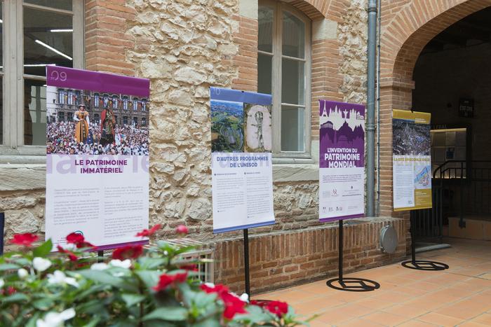 Exposition «L'invention du patrimoine mondial».