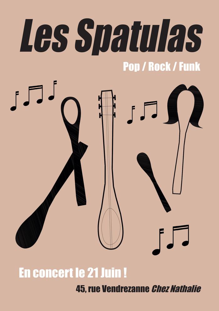 Fête de la musique 2019 - Les Spatulas