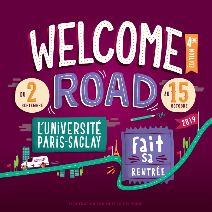 Welcome Road 2019 : L'Université Paris-Saclay fait sa rentrée!