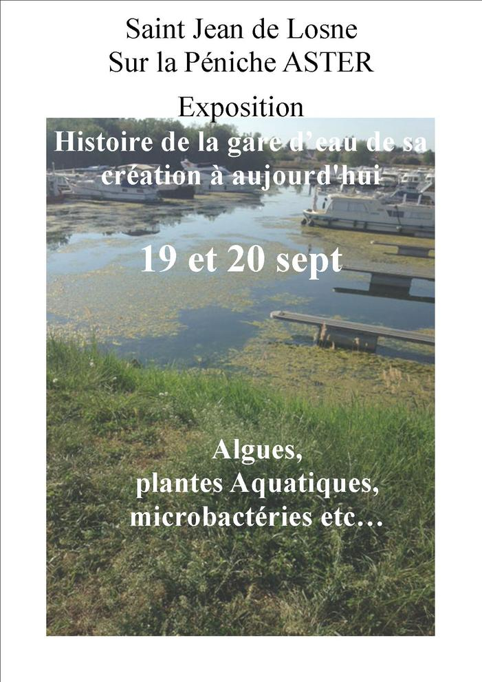 Journées du patrimoine 2020 - Histoire de la Gare d'eau