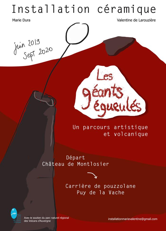 Journées du patrimoine 2019 - Parcours artistique Les géants égueulés