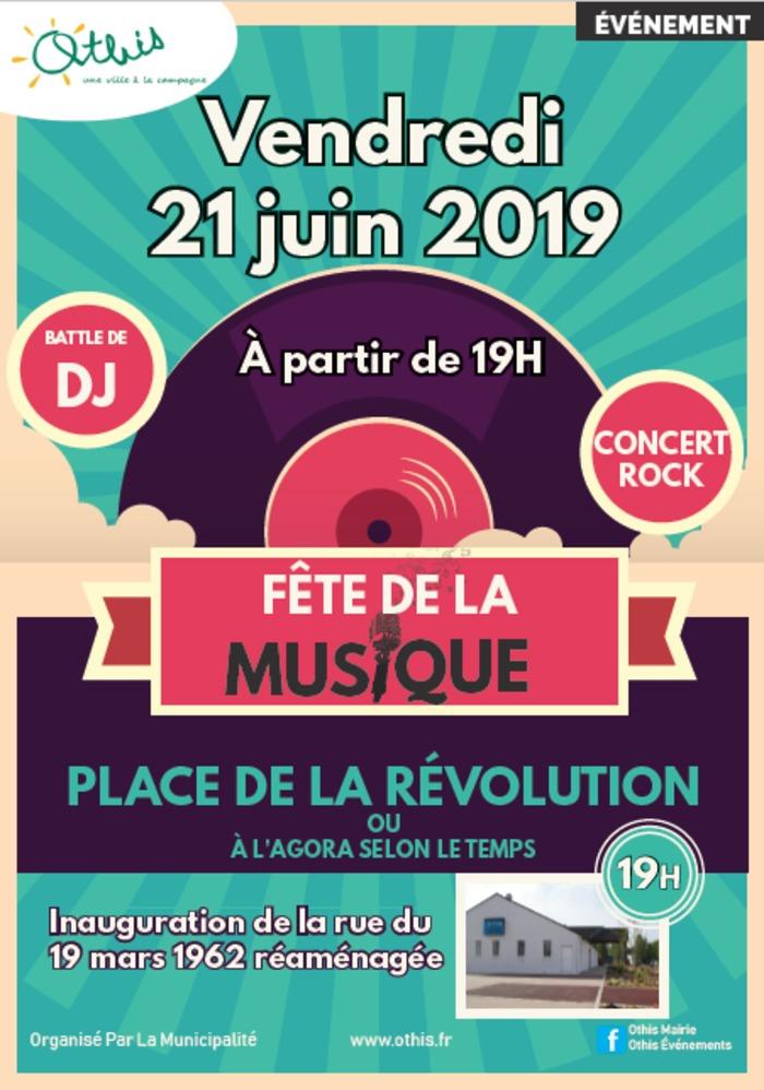 Fête de la musique 2019 - Cover top + battle de Dj